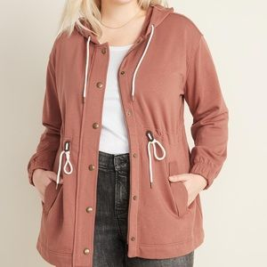 Old Navy Soft-Brushed Hooded Utility